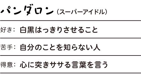 パンダロン(スーパーアイドル)