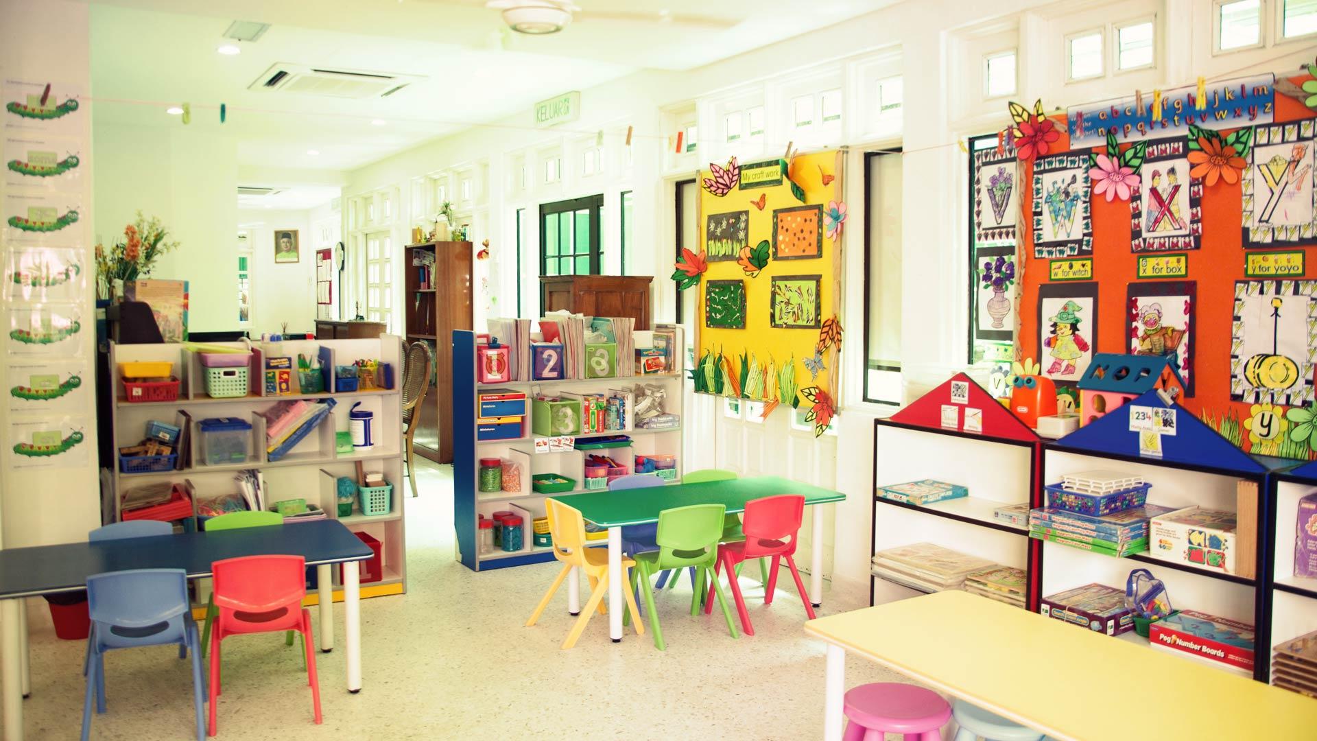 英語幼稚園教室